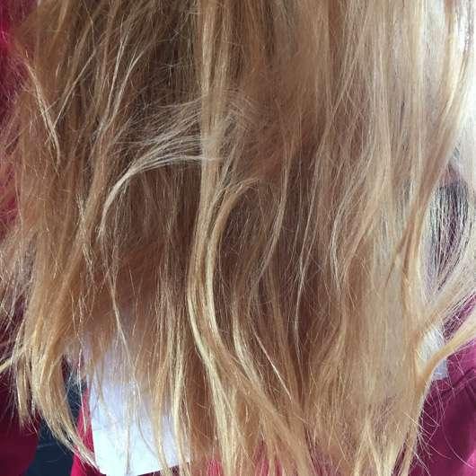 PARSA Beauty Entwirrbürste Bambus - Haare vor dem Bürsten