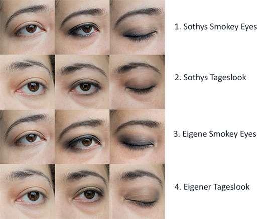 SOTHYS – Ombre Sothys - Palette yeux 4 couleurs – 50 harmonie de tons smoky