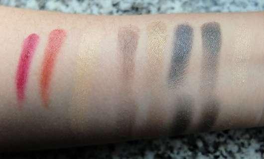 "SOTHYS Make-up Kollektion ""Bleu envoûtant"" - Swatches"
