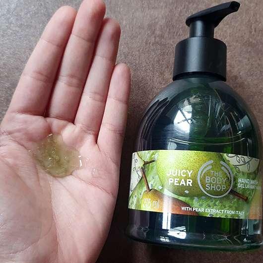 The Body Shop Juicy Pear Flüssigseife (LE) - Konsistenz