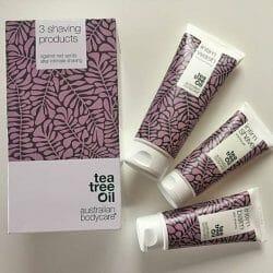 Produktbild zu Australian Bodycare Tea Tree Oil Set für die Intimrasur