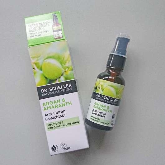 Dr. Scheller Argan & Amaranth Anti-Falten Gesichtsöl