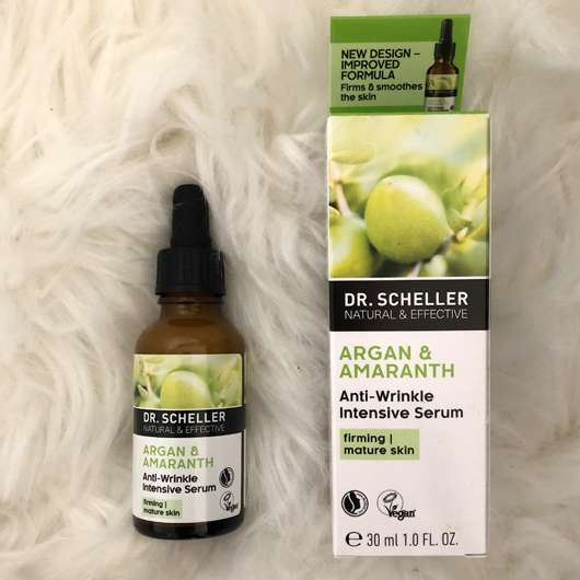 <strong>DR. SCHELLER</strong> Argan & Amaranth Anti-Falten Intensiv-Serum