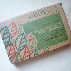 Produktbild zu ecopura Reinigungs- und Abschminkpads