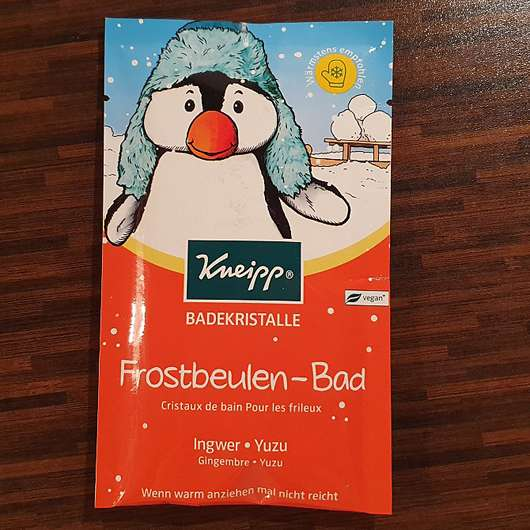 <strong>Kneipp</strong> Badekristalle Frostbeulen-Bad Ingwer Yuzu