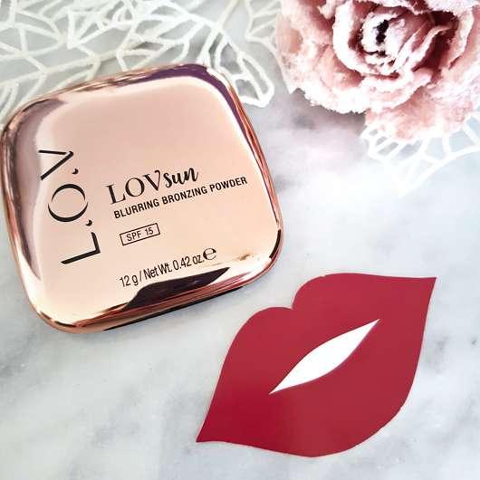 <strong>L.O.V</strong> LOVsun Blurring Bronzing Powder - Farbe: 010 Sensual Caramel