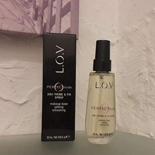 <strong>L.O.V</strong> PERFECTitude 3in1 Prime & Fix Spray