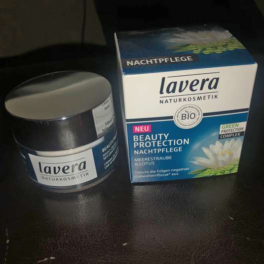 lavera Naturkosmetik Beauty Protection Nachtpflege