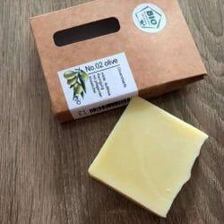 Produktbild zu Mijo Naturkosmetik No. 02 Bio Olivenölseife