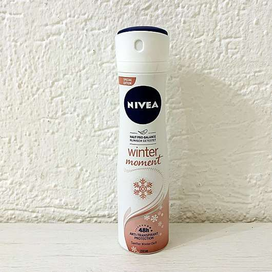 NIVEA winter moment Anti-Transpirant Spray (LE)