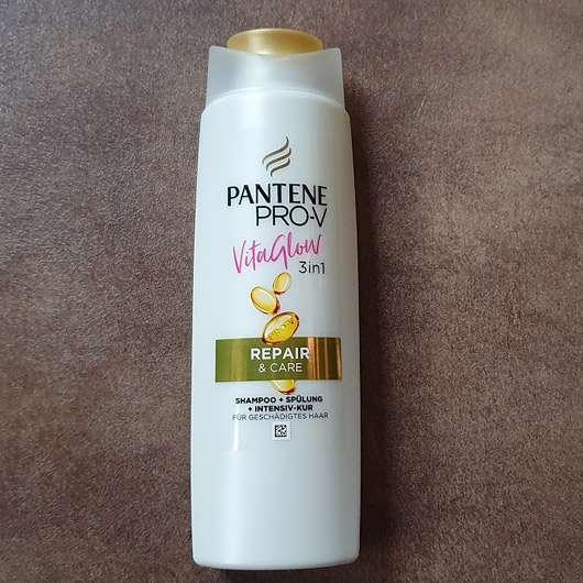 <strong>PANTENE PRO-V</strong> Vita Glow 3in1 Repair & Care Shampoo + Spülung + Kur