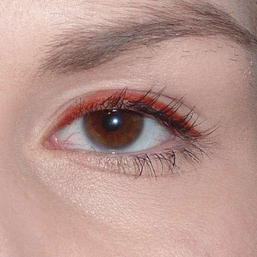 Eyeliner am Ende des Tages