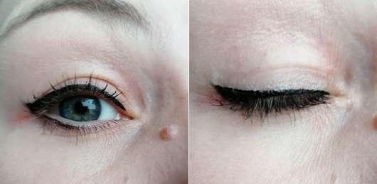 Sleek MakeUP Dip It Eyeliner, Farbe: Black - Tragebild am Auge