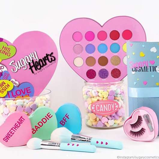 Sugary Cosmetics Sweetheart Collection
