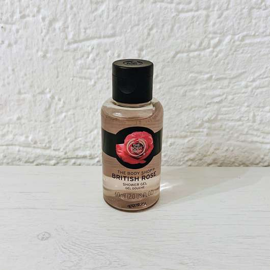 <strong>The Body Shop</strong> British Rose Shower Gel