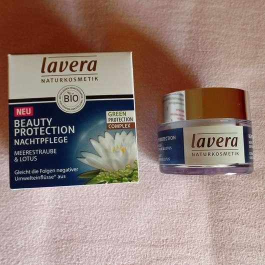 lavera Naturkosmetik Beauty Protection Nachtpflege