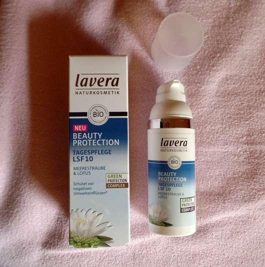 lavera Naturkosmetik Beauty Protection Tagescreme LSF 10