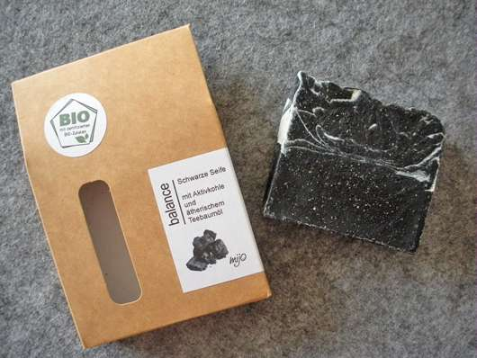 Mijo Naturkosmetik Balance Schwarze Seife