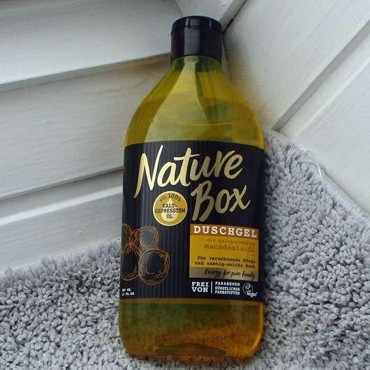 <strong>Nature Box</strong> Duschgel Macadamia-Öl