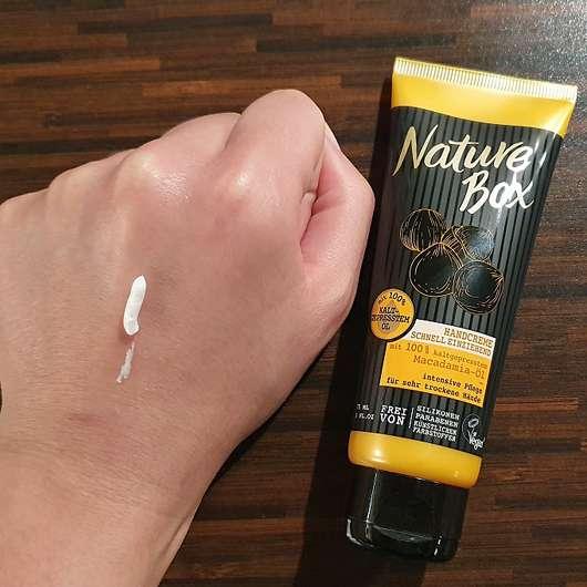 Nature Box Macadamia-Öl Handcreme