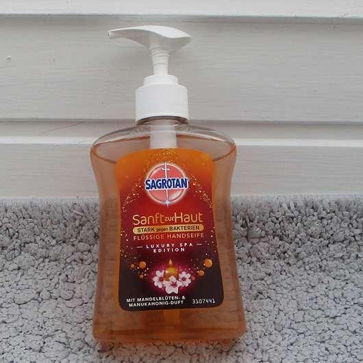 Sagrotan Sanft zur Haut Flüssige Handseife (Luxury Spa Edition)