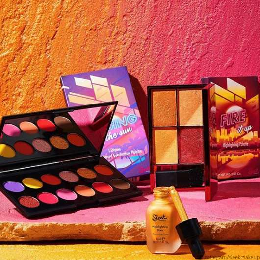 Sleek MakeUP Sunset Vibes Collection