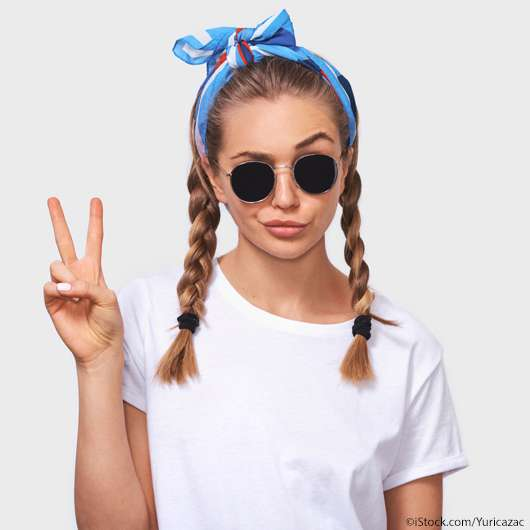 Mit diesem Make-up Hack rutscht eure Sonnenbrille nie mehr von der Nase!