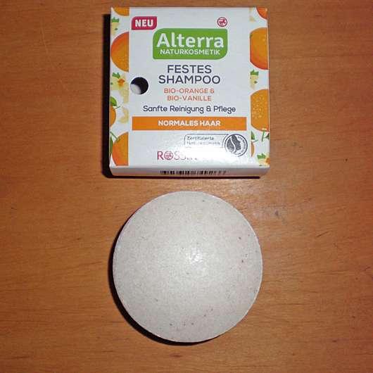 <strong>Alterra Naturkosmetik</strong> Festes Shampoo Bio-Orange & Bio-Vanille