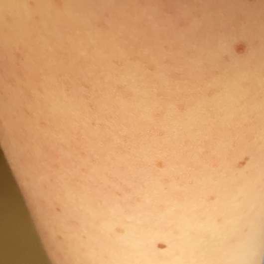 Haut nach 3-wöchigem Test - Eucerin pH5 Leichte Textur Lotion