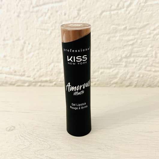 KISS Professional New York Amorous Matte Gel Lipstick, Farbe: 06 Vienna Sienna