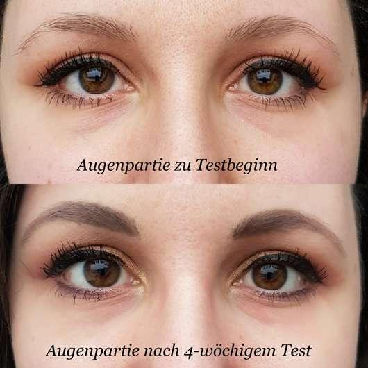 La mer Advanced Skin Refining Beauty Cream Auge - Augenpartie vor/nach dem Test