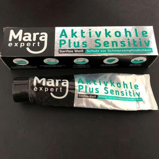 <strong>MARA EXPERT</strong> Aktivkohle Plus Sensitiv Zahncreme