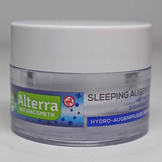 Alterra Naturkosmetik Sleeping Augencreme