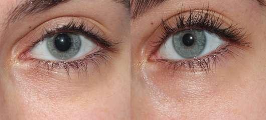 links: Augenpartie vor der Anwendung // rechts: nach 4 Wochen Benutzung