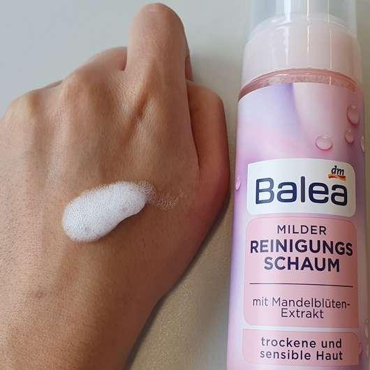 Balea Milder Reinigungsschaum (trockene & sensible Haut)