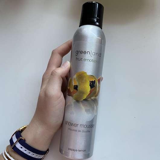 Greenland Shower Mousse Papaya Lemon