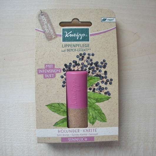 <strong>Kneipp</strong> Lippenpflege Sinnlich (Holunder Kartité)
