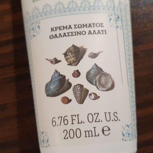 KORRES Olive & Sea Salt Body Cream