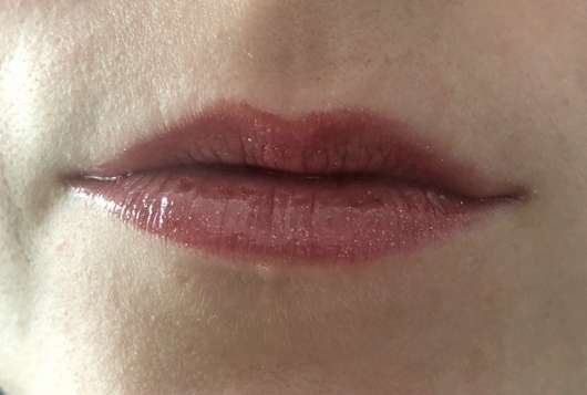 Lippen mit Manhattan High Shine Lipgloss, Farbe: 56N