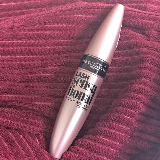 <strong>Maybelline New York</strong> Lash Sensational Voller-Wimpern-Fächer Mascara - Farbe: Black