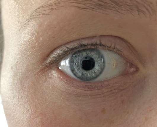 Auge ohne Maybelline Lash Sensational Voller-Wimpern-Fächer Mascara, Farbe: Black