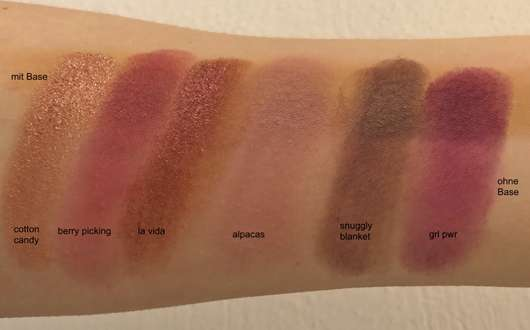 Misslyn Matt X Metallic Eyeshadow Palette, Farbe: 1 Eye Love It!