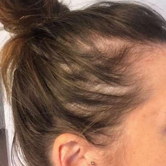 Haare ein Tag nach der Haarwäsche