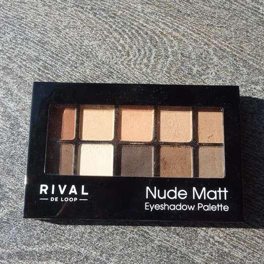 <strong>Rival de Loop</strong> Nude Matt Eyeshadow Palette - Farbe: 01 Nude Matt