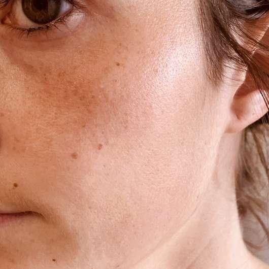 Gesicht mit Sundance Selbstbräuner Konzentrat