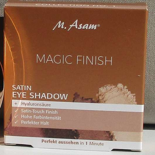 M. Asam MAGIC FINISH Satin Eye Shadow Collection No. 1