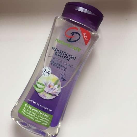 CD Naturkraft Feuchtigkeit & Pflege 2in1 Shampoo & Spülung