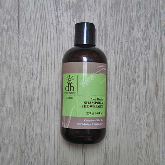 <strong>Desert Harvest</strong> Aloe-Herbal Shampoo & Shower Gel