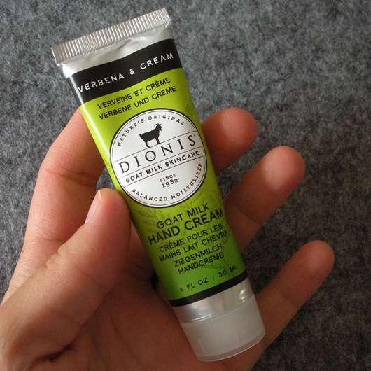 """DIONIS Goat Milk Hand Cream """"Verbena & Cream"""""""