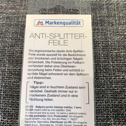 ebelin Anti-Splitter-Feile